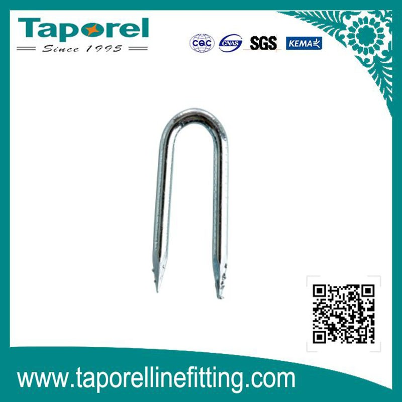 Barbed, Square Shank, Cut Point Staple