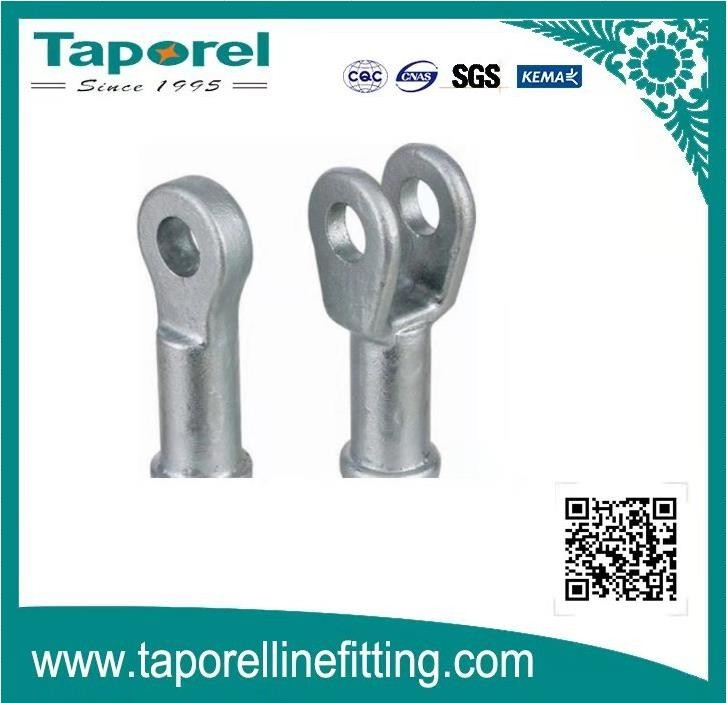 TONGUE AND CLEVIS FITTING